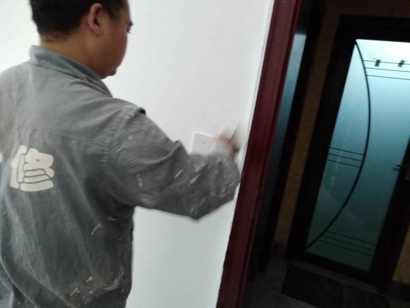 墙面刷漆维修