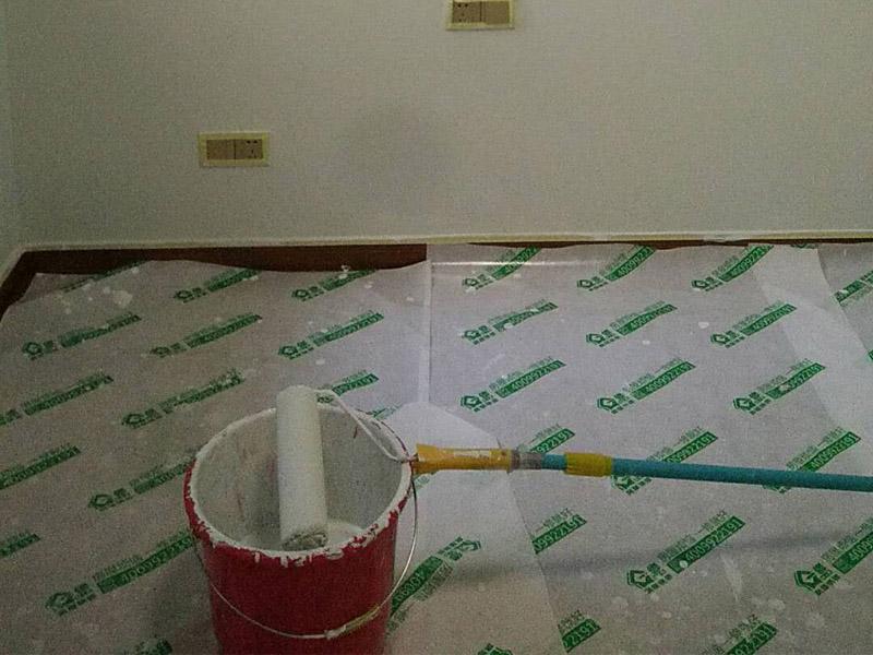 刷墙,地面保护