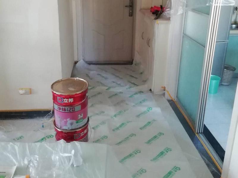 墙面粉刷保护