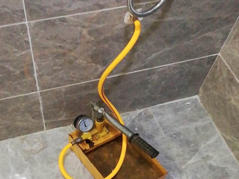 水管打压测试