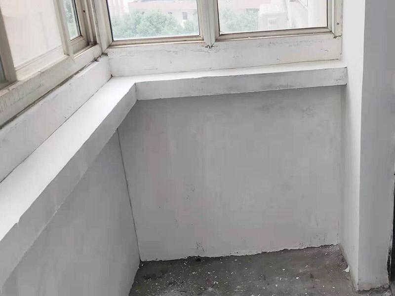 阳台刷白翻新