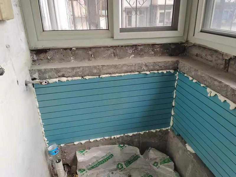 阳台做保温层改造