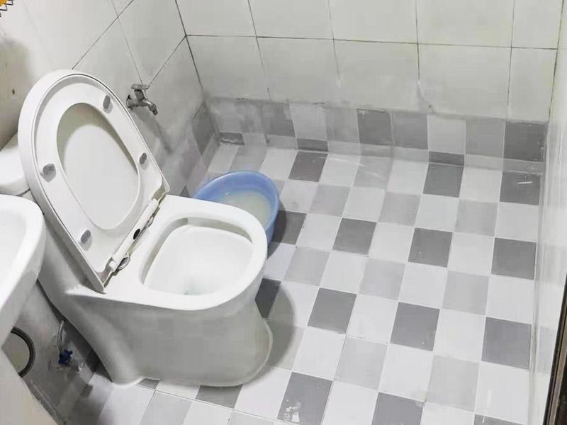 卫生间地面局部改造