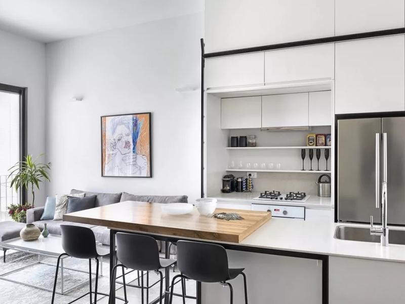 厨房吧台整体改造装修
