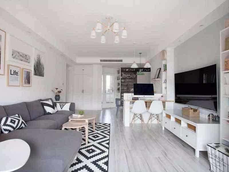 唐山客厅装修,装修客厅是用瓷砖好还是复合地板好