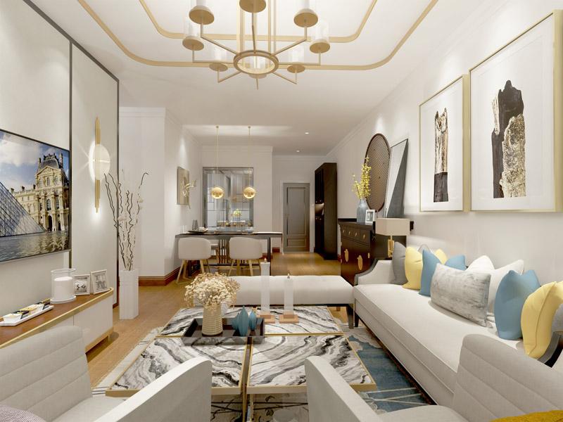 套三 新中式风格 客厅