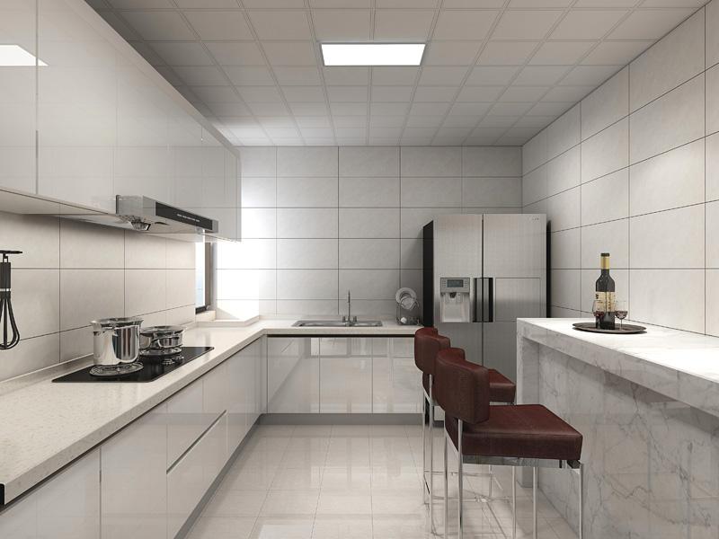 益修 现代厨房设计案例二