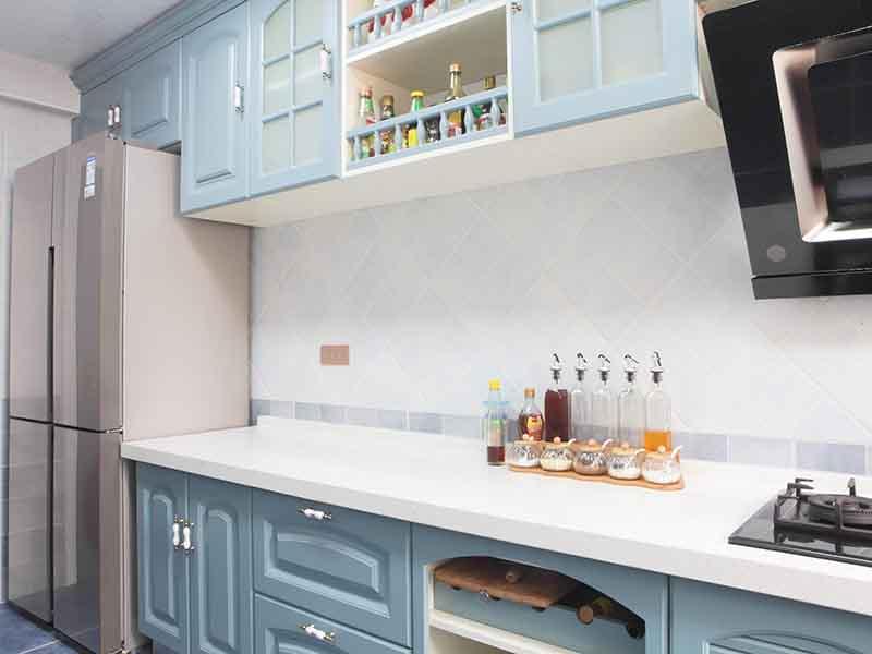 重庆市区厨房翻新标准流程装修-厨具安装