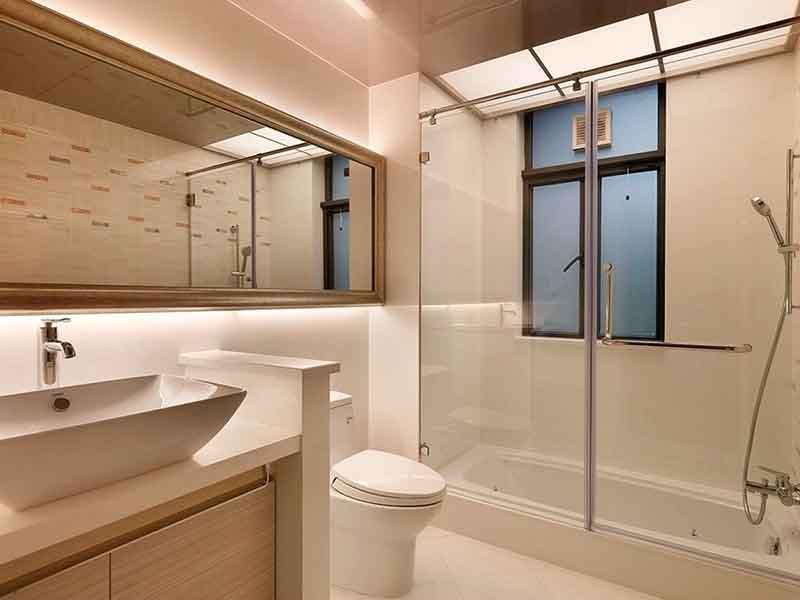 北京市区卫生间墙面瓷砖旧了翻新-瓷砖泡水