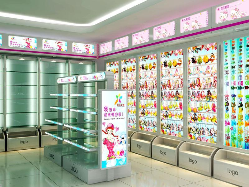 飾品店裝修圖片,韓國飾品店裝修設計圖,飾品店裝修效果圖大全